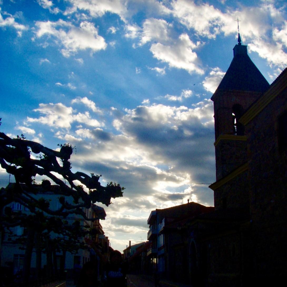 カミーノ教会 青空