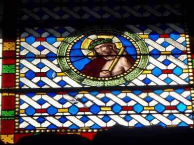 516 カミーノ サンティアゴ巡礼 レオン ジーザスステンドグラス