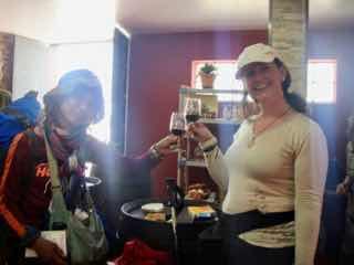 524 カミーノ ビアフランカ ワイン試飲 サンティアゴ巡礼
