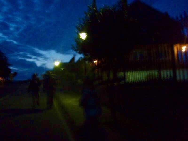 602 Camino カミーノ パラスデレイ papas de rai 向かう ポルトマリン朝焼け 木々