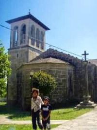 602 Camino カミーノ パラスデレイ papas de rai 向かう教会23