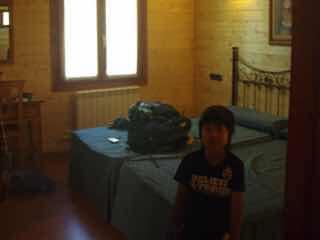 602 Camino カミーノ パラスデレイ papas de rai  ペンション部屋2