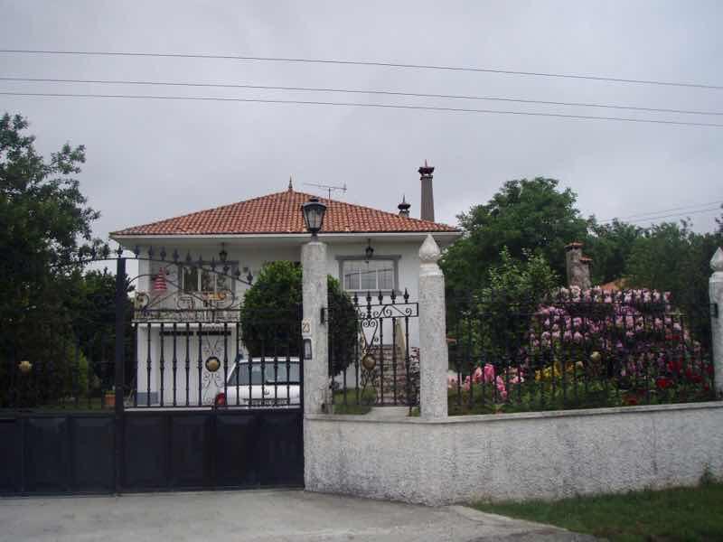 605スペイン巡礼 民家 サンティアゴ Santiago