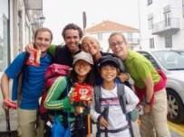 605スペイン巡礼 カナリヤフレンド サンティアゴ Santiago