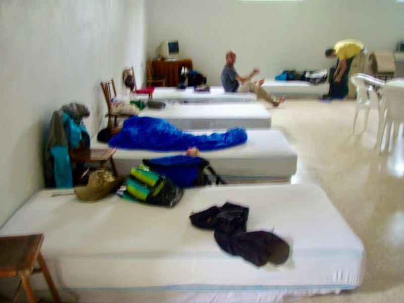 608サンティアゴ巡礼 バル 簡易ベッド カミーノ アス・マロナス
