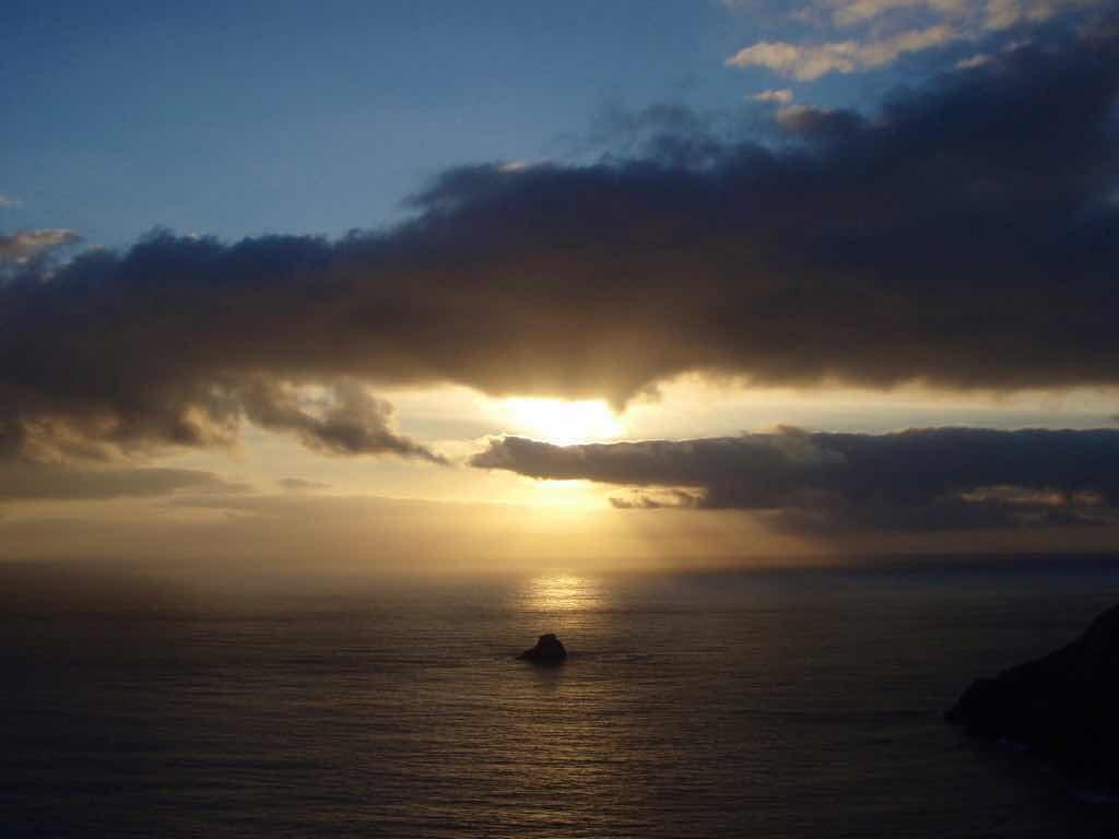 612 fisterra sunset 13 サンティアゴ巡礼