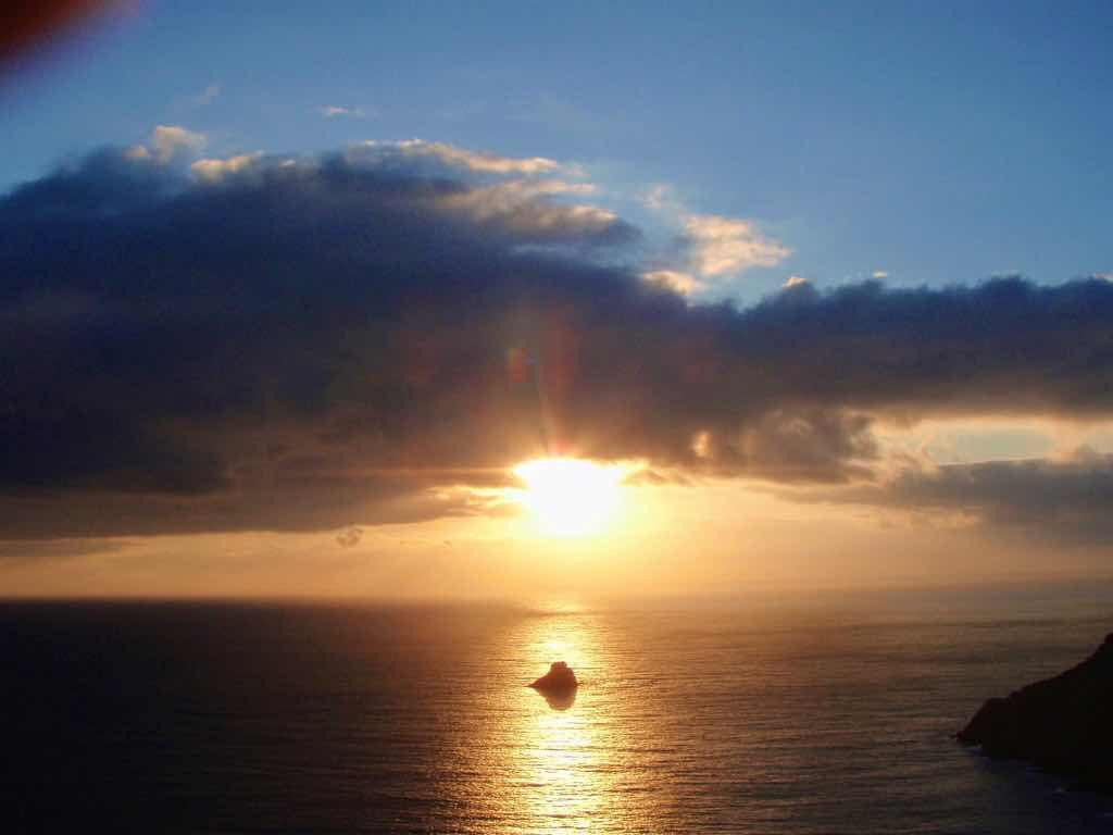 612 fisterra sunset 10 サンティアゴ巡礼