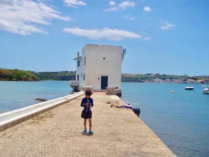 618メノルカ島 波止場2 Menorca