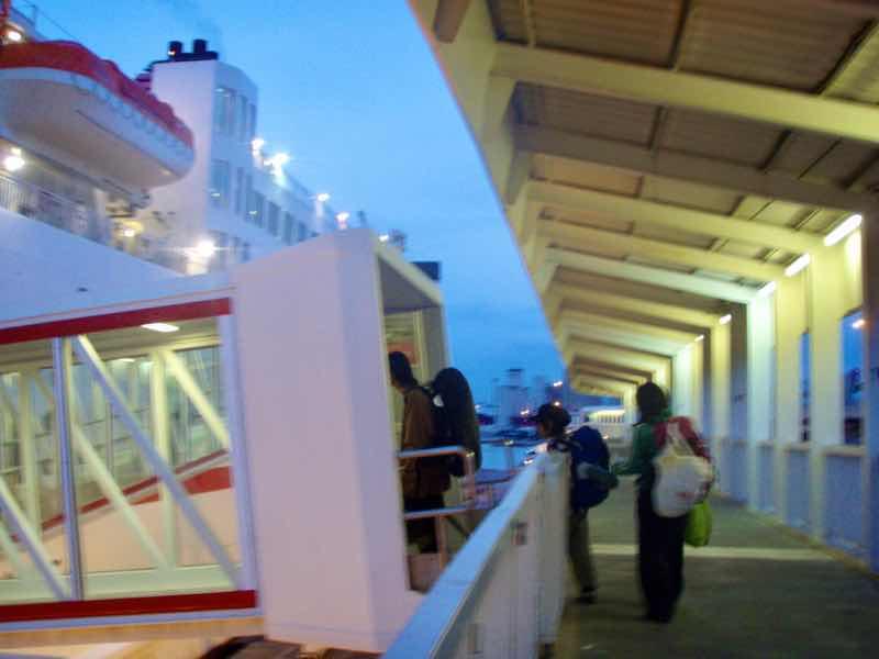 617 メノルカ島フェリー乗船menorca Ferry 12