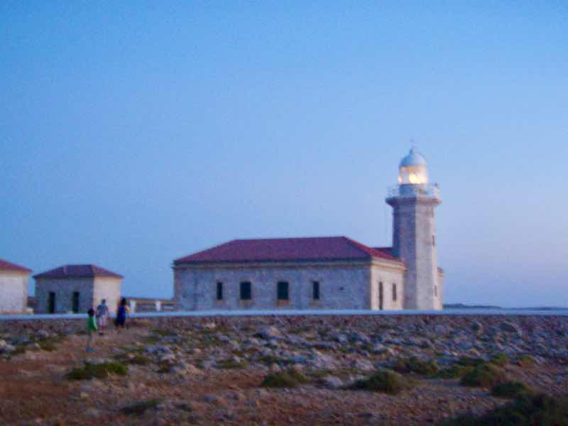 623メノルカ島 Menorca プンタナティ灯台