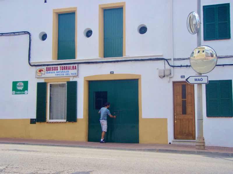 623メノルカ島 Menorca チーズお店