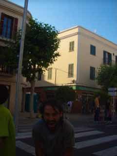 623メノルカ島 サン•フアン 馬祭り Menorca シウタデラ 街角h