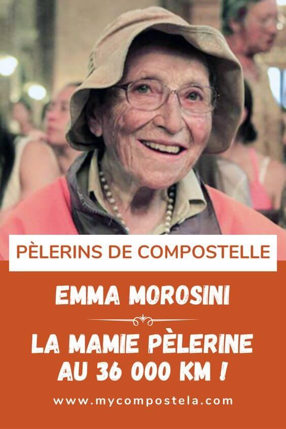 Emma Morisine - la mamie pèlerine