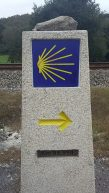 first sign with less than 100km