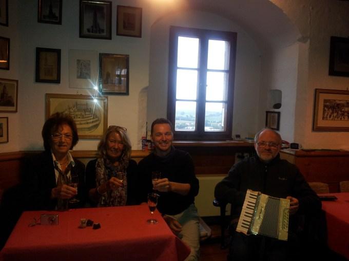 Zu Besuch bei Brigitte und Katharina auf dem Daniel in Nördlingen!