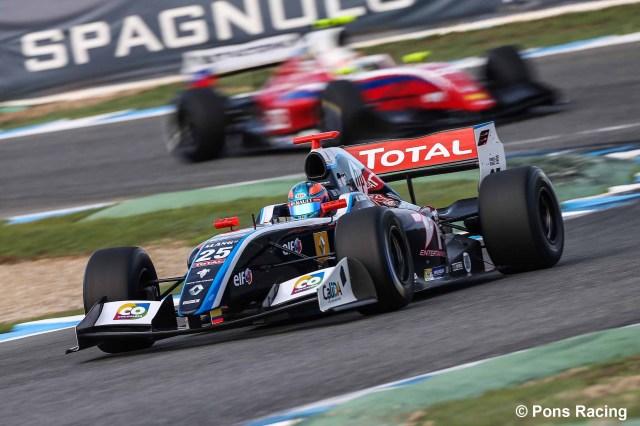 Pons Racing ha tenido un buen fin de semana