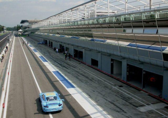 Pit-Lane del circuito de Monza