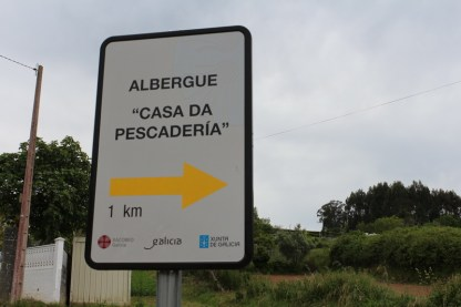 Public albergue of Betanzos (at this point 1km seems like 10)