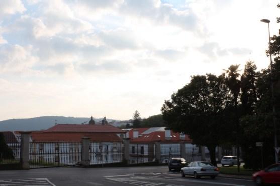 Rúa Taxonera, looking back to Concatedral San Xiao