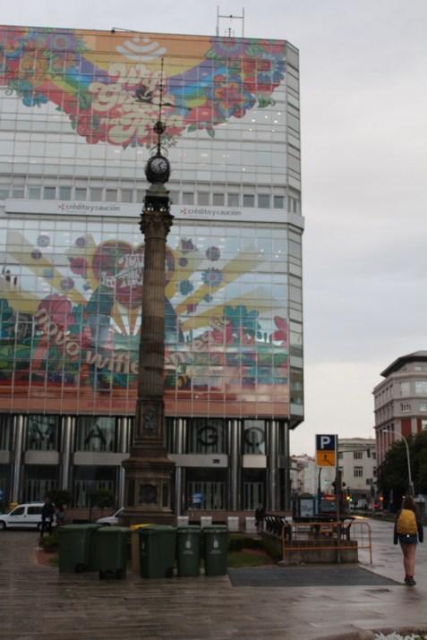 Obelisk - Rúa Cantón Grande