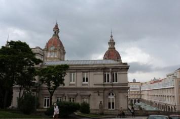 Concello da Coruña backview