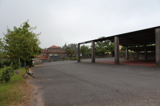 Presedo albergue surroundings