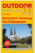 Karte - der Jakobsweg von Köln bis nach Trier.