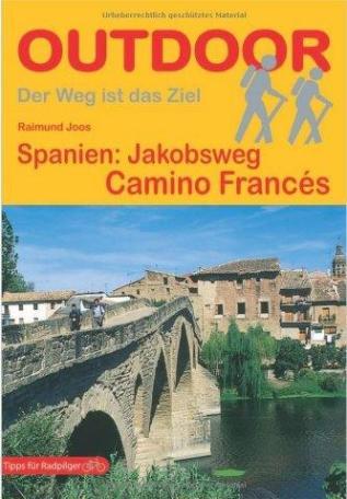 Pilgerführer für den «camino francés» von Reimund Joos aus dem Conrad-Stein-Verlag (das Gelbe)