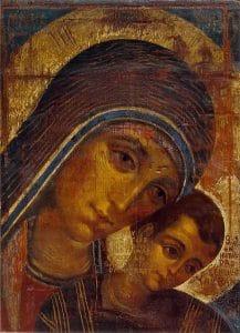 Que es el Camino Neocatecumenal, imagen del icono de la Virgen
