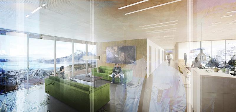 ¡Insólito! Así es la prisión que abrirá en 2019 en Groenlandia