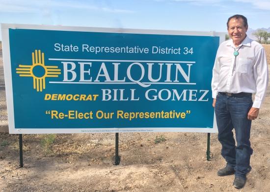 Bill Gómez anuncia candidatura: Su obra