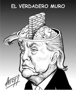 El verdadero muro de Trump