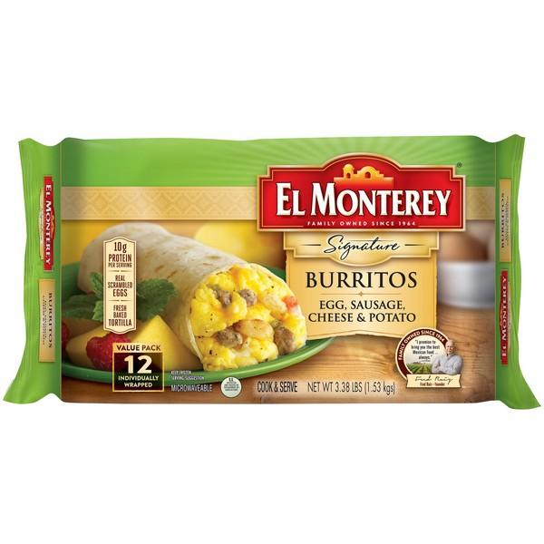 50 mil libras de burritos con plástico