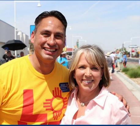 Lujan-Grisham y Morales en eventos populares para gobernar Nuevo México el domingo visitan la región