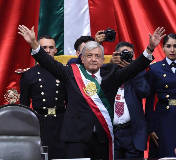 AMLO=Andrés Manuel López Obrador=Presidente de México
