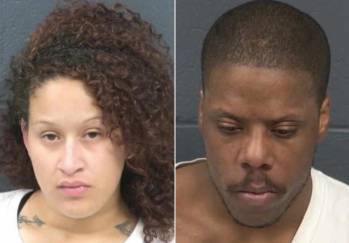 Dos arrestados y vehículo robado recuperado