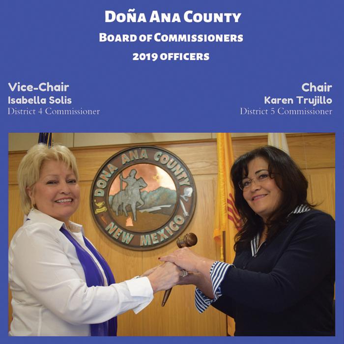 Histórico: Dos mujeres hispanas dirigen la Comisión del Condado