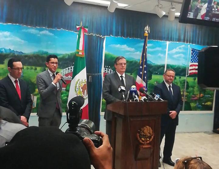 Reacciones del gobierno de México