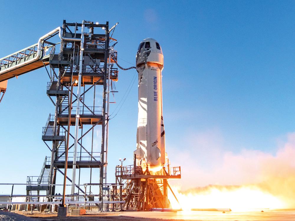 Blue Origins lista para enviar a cuatro  astronautas al espacio desde Van Horn
