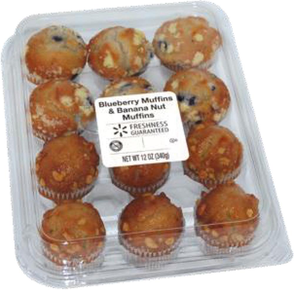 Muffins de Walmart, Sam's y 7-Eleven con riesgo de listeria. Son 26 tipos diferentes