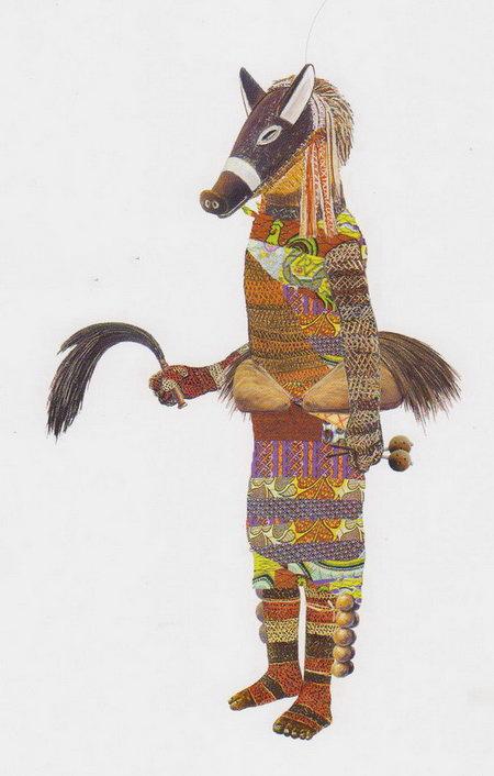 Mask Chokwe Ngulu 13