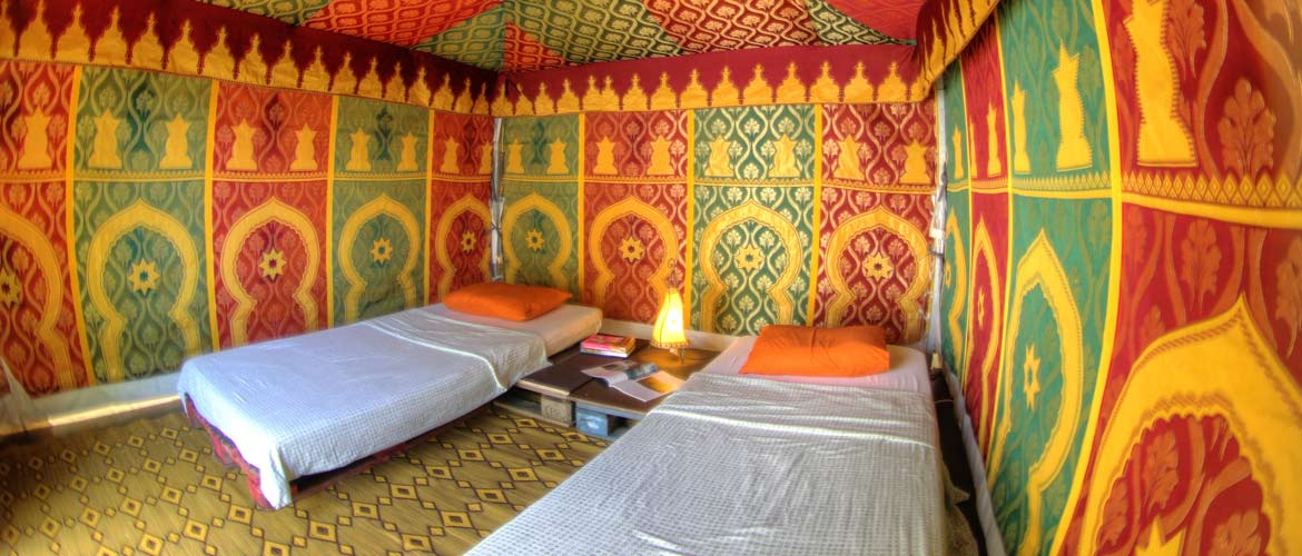 Camino Surfcamp Galicien Glamping Temple stylish accommodation