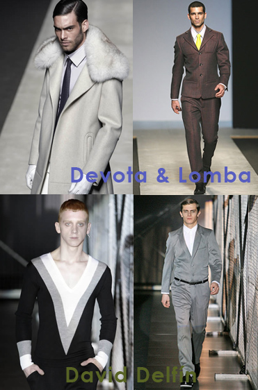 Algunos modelos de Devota & Lomba y David Delfî