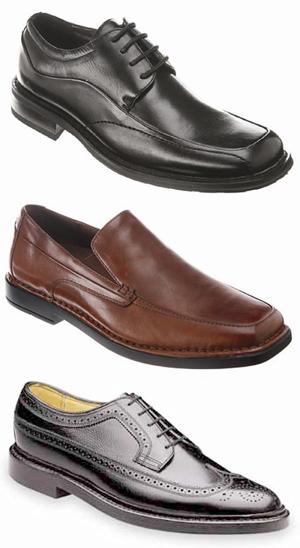 Algunos modelos de zapatosFlorsheim