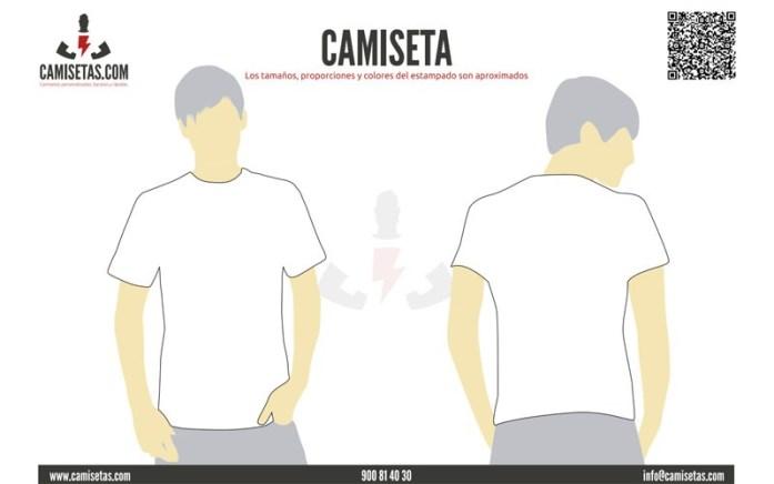 Plantilla camisetas personalizadas