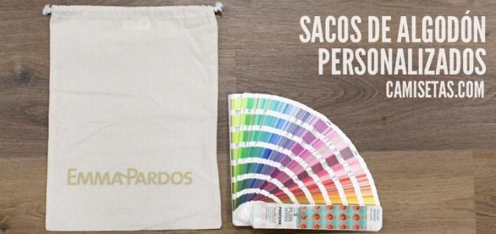 Sacos de algodón personalizados 48