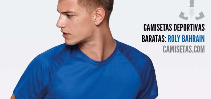 Camisetas deportivas baratas: Roly Bahrain 37