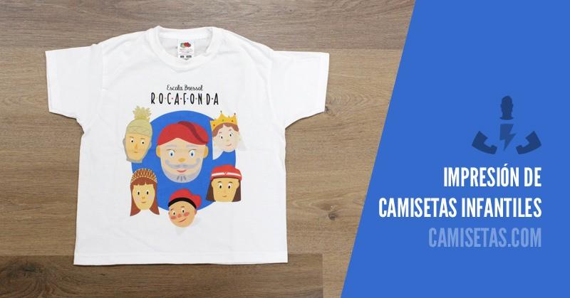 Impresión de camisetas infantiles 1
