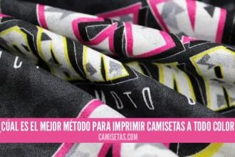 imprimir camisetas a todo color