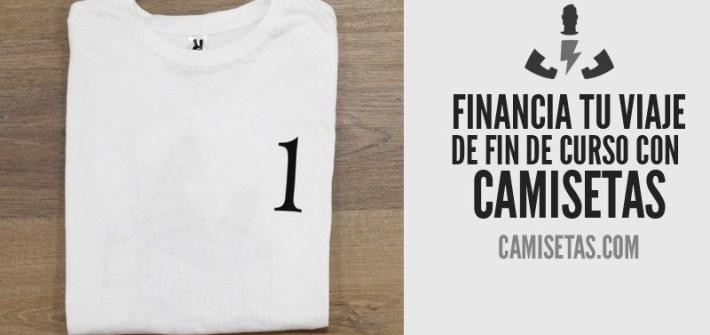 Financia tu viaje de fin de curso con camisetas 1